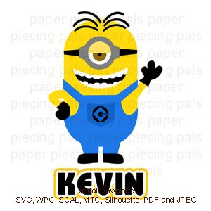 Minions Kevin O Leary And Cuttings On Pinterest