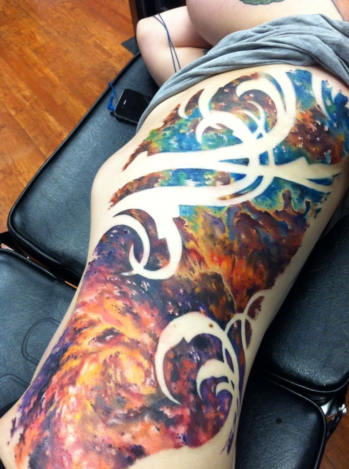 nebula tattoo designs - photo #15