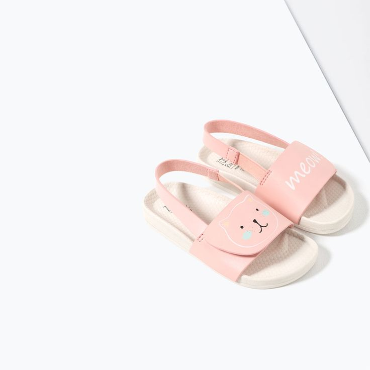 SANDALS WITH DETAIL-SWIMWEAR-BABY GIRL | 3 months-3 years-KIDS | ZARA United States
