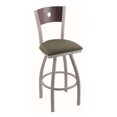 Holland Bar Stool Voltaire 25 in. Swivel Counter Stool Natural Maple Axis Grove - 83025PWNATMPLBAXSGRV