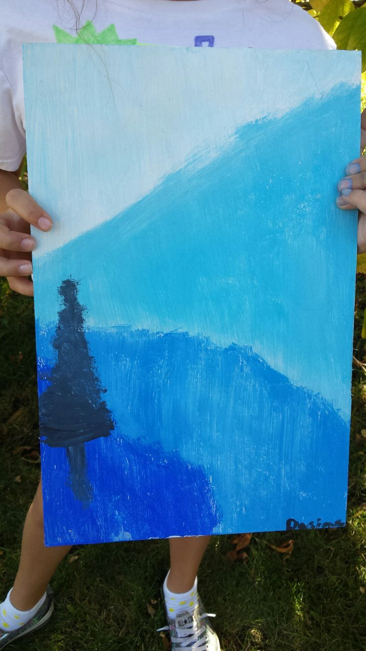 I painted this picture