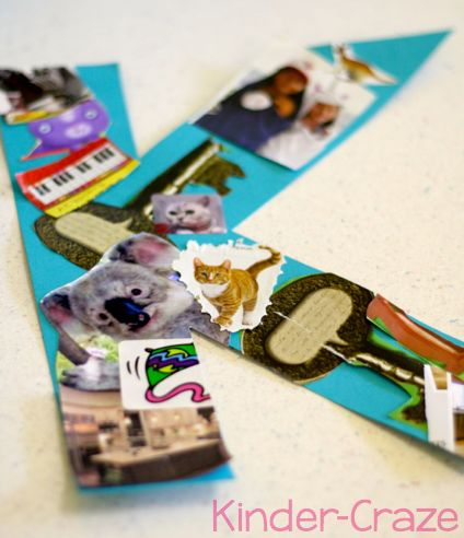 Letter of the Week collage and other great ideas for incorporating Letter of the Week in the classroom