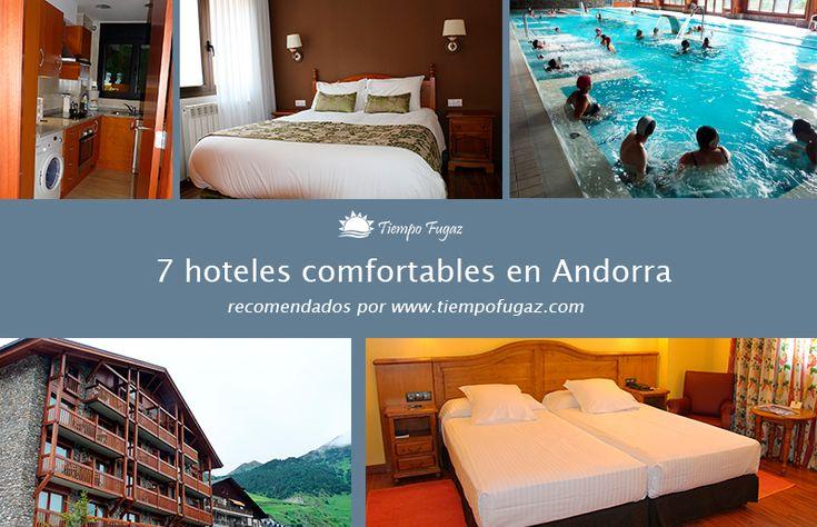 Una recomendación de algunos hoteles para alojarse en las montañas andorranas