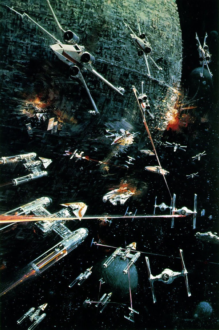 El arte de la Guerra De Las Galaxias.