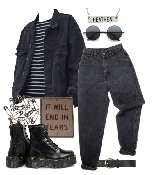 Heathen created by screamingmustard on ShopLook.io perfect for School. Visit us to shop this look. #School, #Everyday, #Taurus The Bull Style, #Edgy,