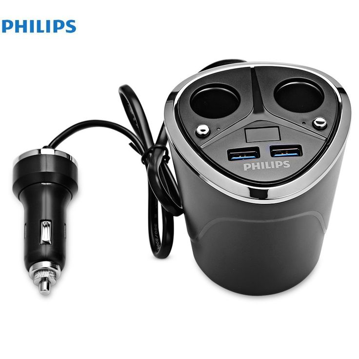 PHILIPS DLP2029 Double USB Car Cigarette Lighter 12V 3.1A Quick Charge Mobile Phone Car-charger adapter //Price: $57.98 & FREE Shipping //     #audio