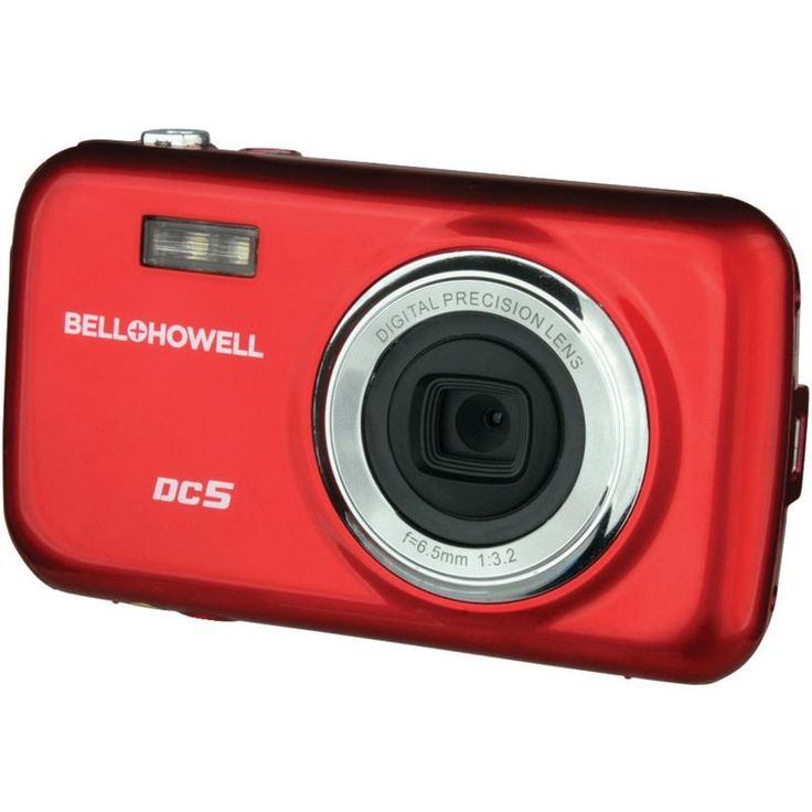 Bell+howell 5.0-megapixel Fun Flix Kids Digital Camera (red)