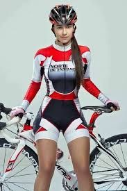 Image result for gorgeous breasts cycling