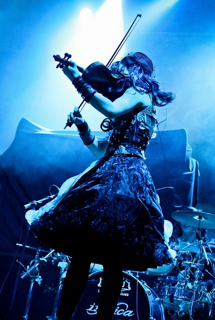 Indica girl band by Visit Finland, via Flickr