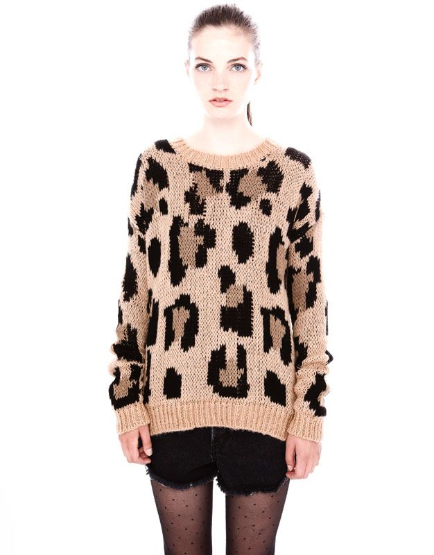 LEOPARD SWEATER - NEW PRODUCTS - WOMAN - PULL