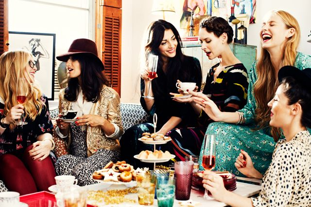 A Tea Party with Dorie Greenspan and Designer Gaby Besora - bon appetit