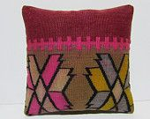moroccan pillow cover 18x18 decorative throw pillow unique decor home furnishings kilim pillow case striped throw pillow aztec pillows 30092