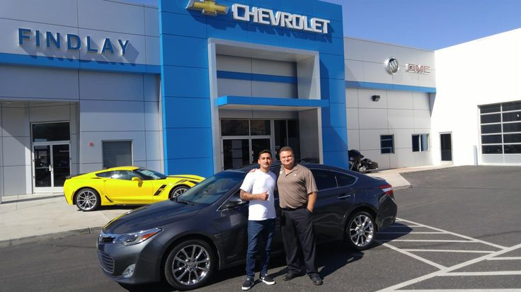 DAVID's new 2013 TOYOTA AVALON! Congratulations and best wishes from Findlay Chevy Buick GMC and Alex Logan.