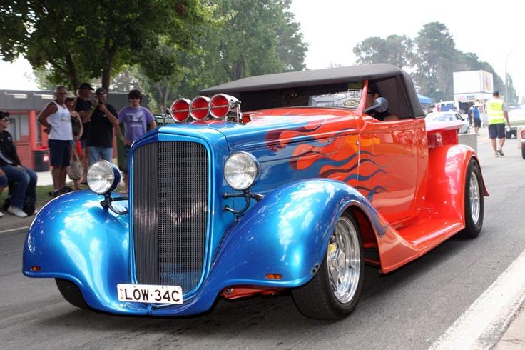 The annual Street Machine Summernats Car Festival