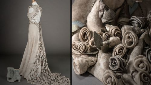 Margeary Tyrell (Natalie Dormer) Wedding Gown. Game of Thrones season 4.