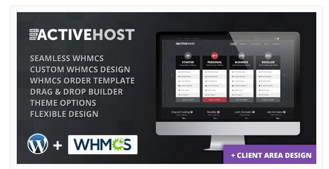 30 Premium WordPress Hosting Business Themes