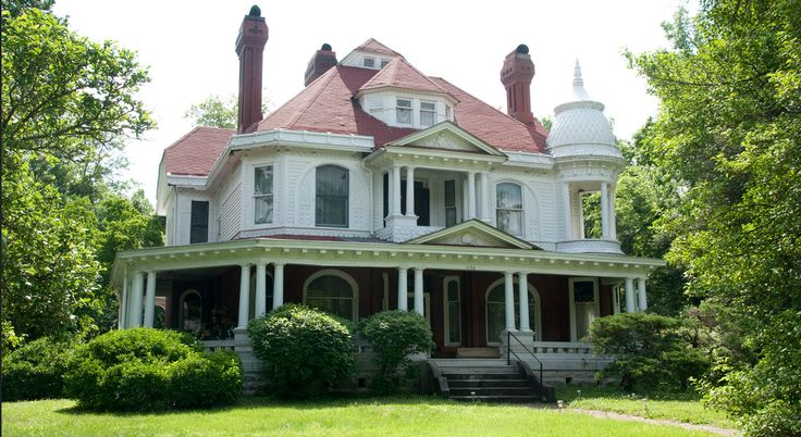 17 best images about historic homes of carthage mo on for One story queen anne