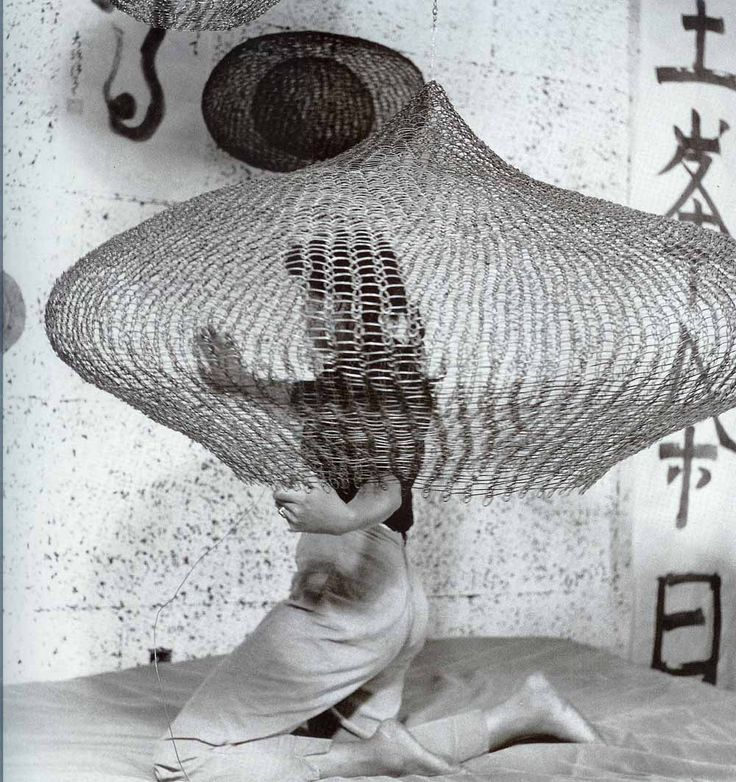 Earlier this month the important artistic icon Ruth Asawa passed away at 87  years old, and the arts & design blogosphere have been featuring  retrospectives all month, as they should. Typically they are all sharing  the exact same quotes and biographic information about Ruth, so here is  some info about her life and some photos of her iconic work.