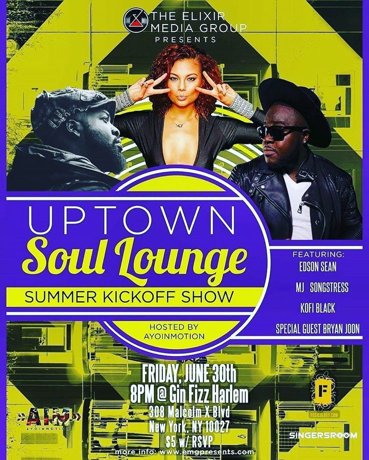 It's Friday night...and you need some good music in your life. I know it. You know it. So do the right thing and come out to @ginfizzharlemnyc for the best Experi3nce of your week  #yourewelcome  #uptownsoullounge  #harlemworld  #wegondoitagain  #fridaynight  #justgotpaid  #realmusic  #hiphopsoul  #supportthearts  #theexperi3nce  #edsonsean  #newstart