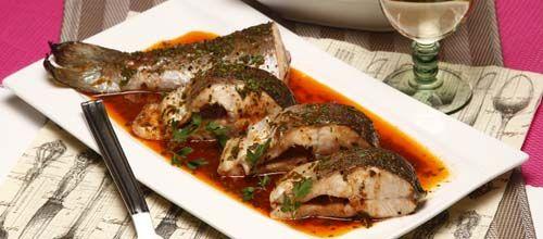 Receita de Truta salmonada grelhada. Descubra como cozinhar Truta salmonada grelhada de maneira prática e deliciosa com a Teleculinaria!