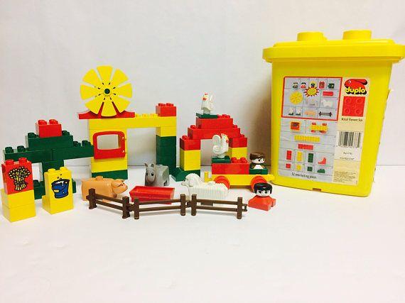Lego Duplo Set Preschool Building Set Vintage Lego Farm in