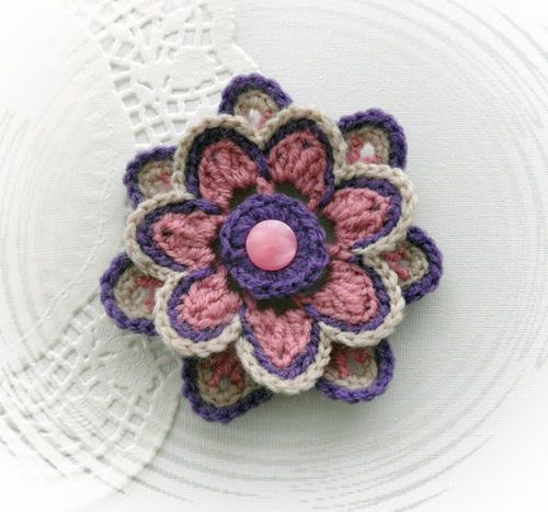 17 Best images about CROCHET- FLOWERS on Pinterest ...