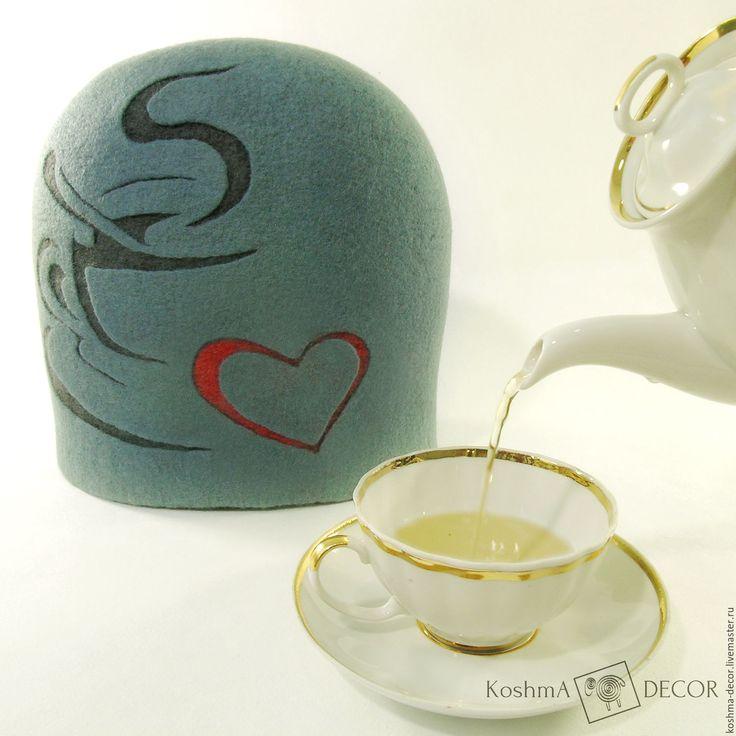 Купить Грелка на чайник для уютного чаепития - грелка на чайник, декор кухни, для дома и кухни
