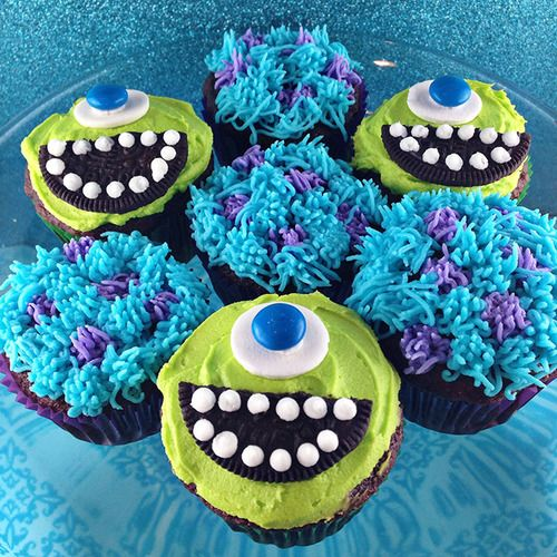 'monsters inc' cupcakes - better try these next!!!