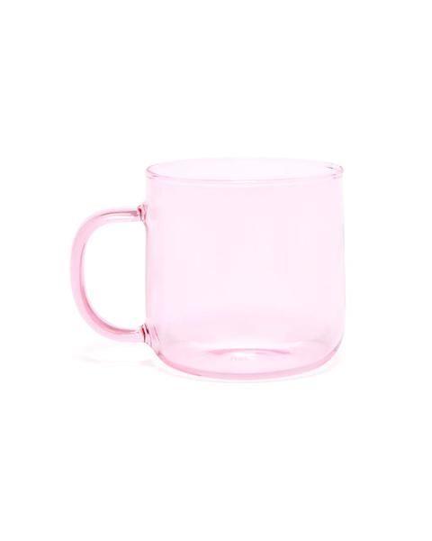 MugsCoffee Best 2019Deseo Borosilicate Mug Pink In 8mn0Nw