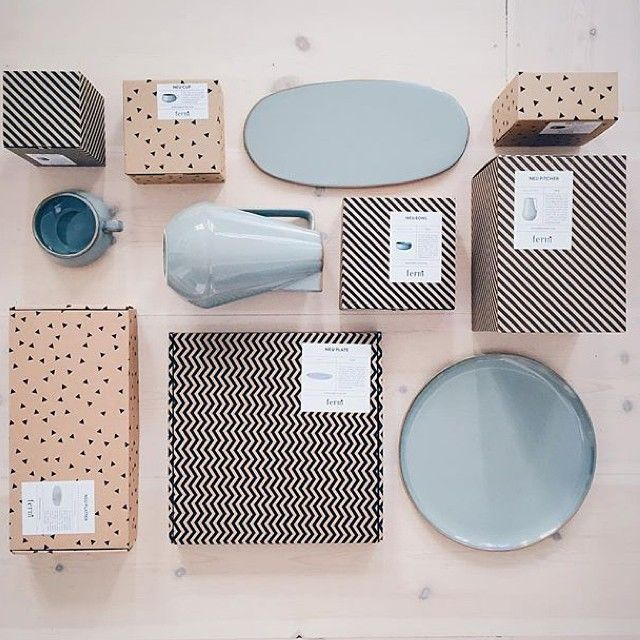 Unpacking the NEU tableware for @feastcopenhagen tonight - regram @bungalow5dk #fermliving #neu #feastcopenhagen #seafood #copenhagen #design #tableware