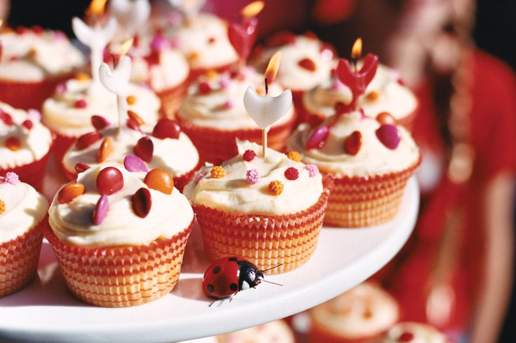 Watch the kids faces light up when you unveil these cute birthday cupcakes.