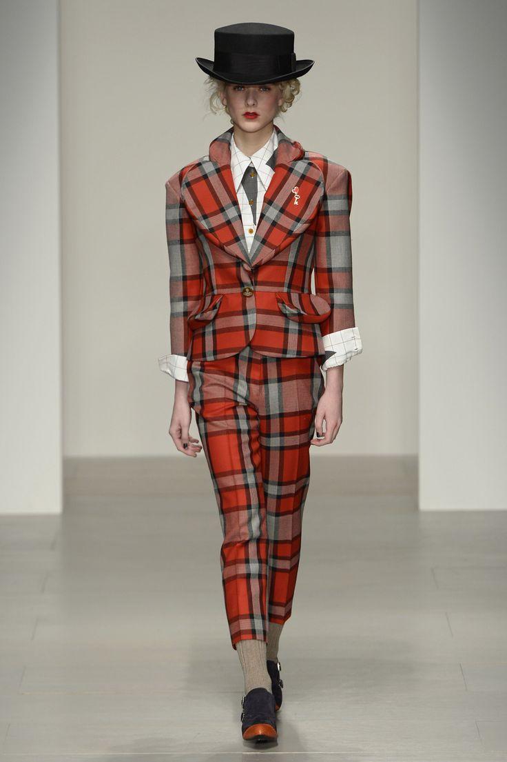 Vivienne Westwood AW 14/15 Red Label: Look 13