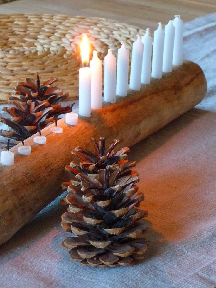 Unseren Familien-Adventskalender in   Form von 24 kleinen Kerzchen kennt Ihr ja.     Ein paar von Euch wollten nun   auch sehen, wie wir...