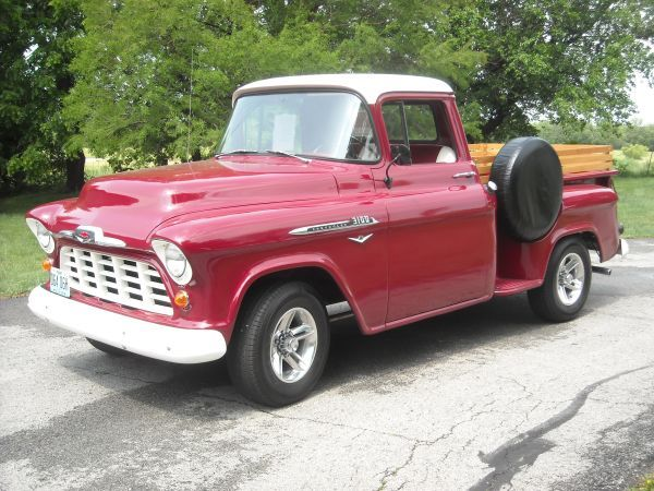 ***1956 Chevy 1/2 ton Pickup Truck Fully Restored-Very Sharp!*****