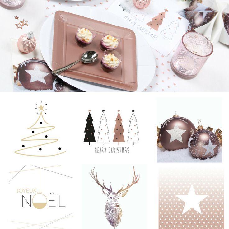 glam-chic collection Noël de serviette