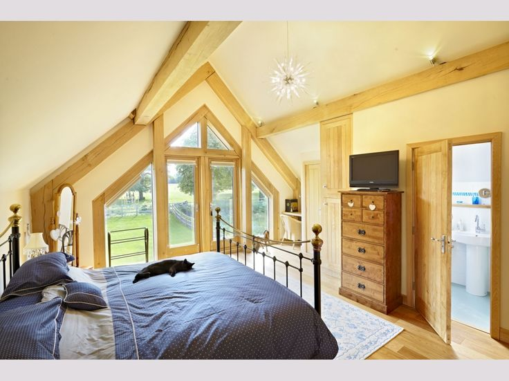 Oakwrights barn style oak framed homes gallery  Pinned from PinTo for iPad 