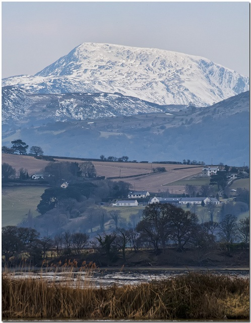 Moel Siabod from RSPB Conwy, via Flickr.