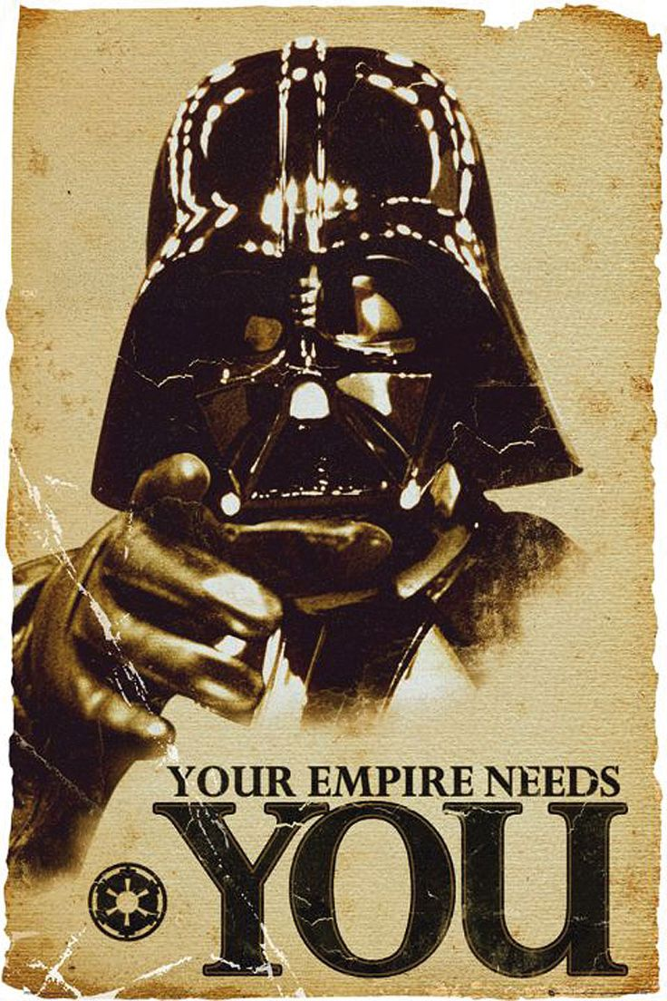 Star Wars - Your empire needs you