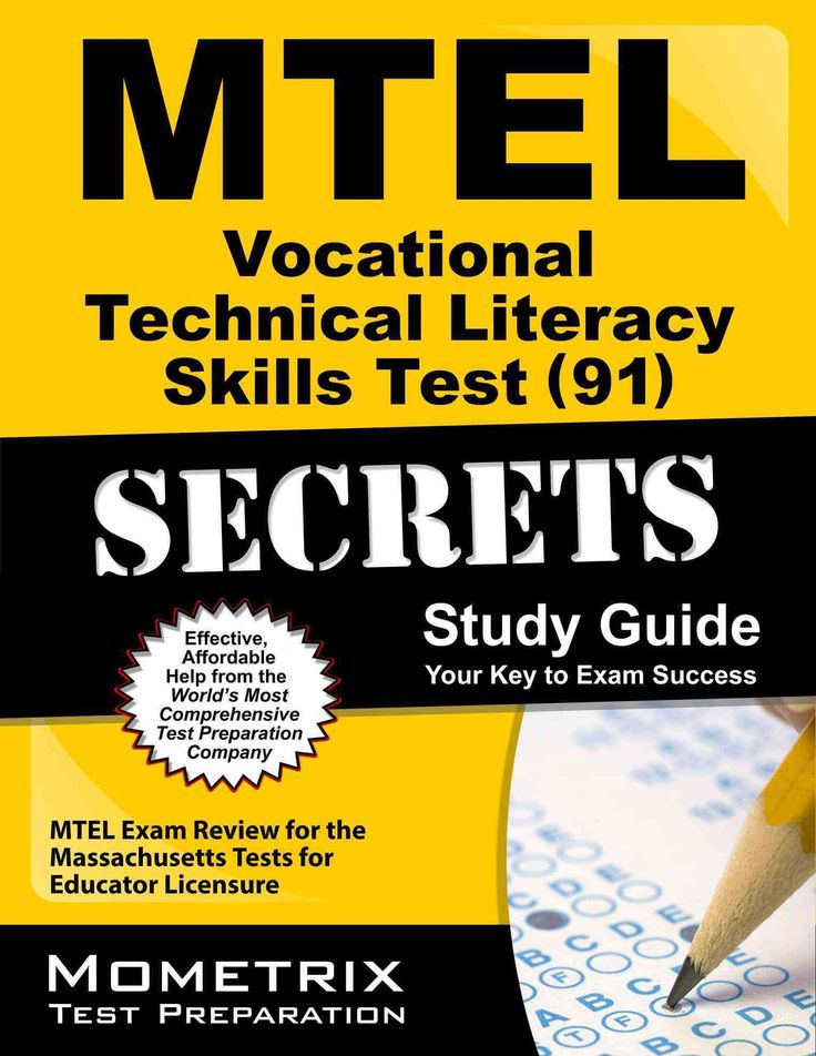 Mtel Vocational Technical Literacy Skills Test 91 Secrets Study Guide: Mtel Exam Review for the Massachusetts Tes...