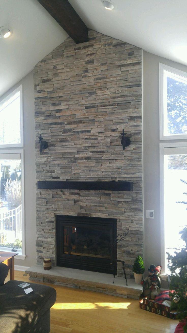 Boral Echo Ridge Alpine Ledgestone Fireplace Surround Stone