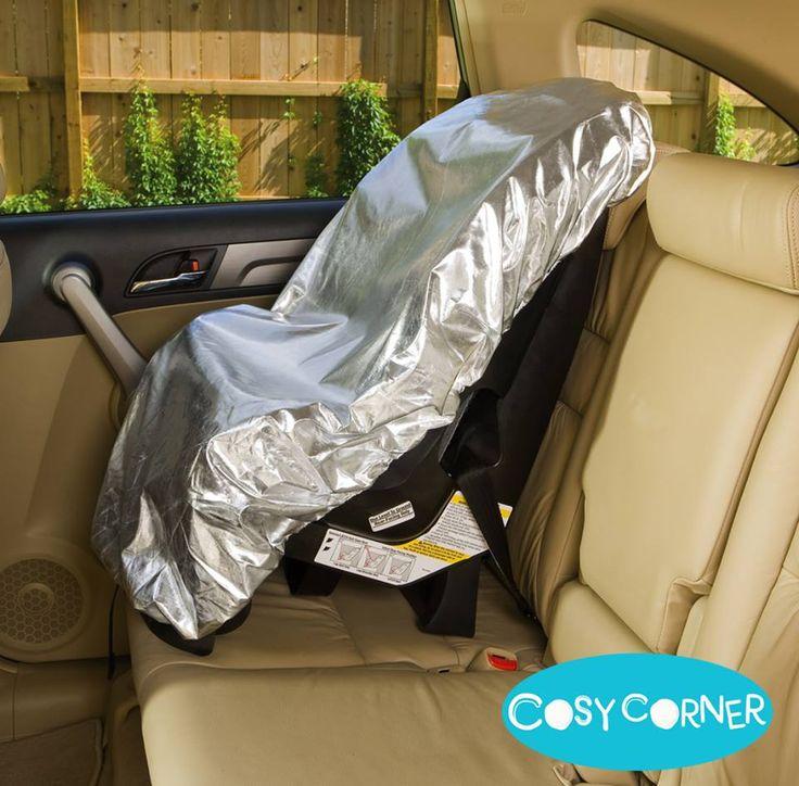 Προστατευτικό Κάλυμμα για το Παιδικό Κάθισμα - Δροσίζει και προστατεύει το παιδικό κάθισμα του αυτοκινήτου από τη θερμότητα και την υπεριώδη ακτινοβολία. http://goo.gl/d32nvn