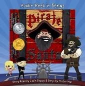 Pirate Santa audio book cd read by Cap'n Slappy and music by Mister mac  www.piratesanta.com    Best with Pirate Santa the book