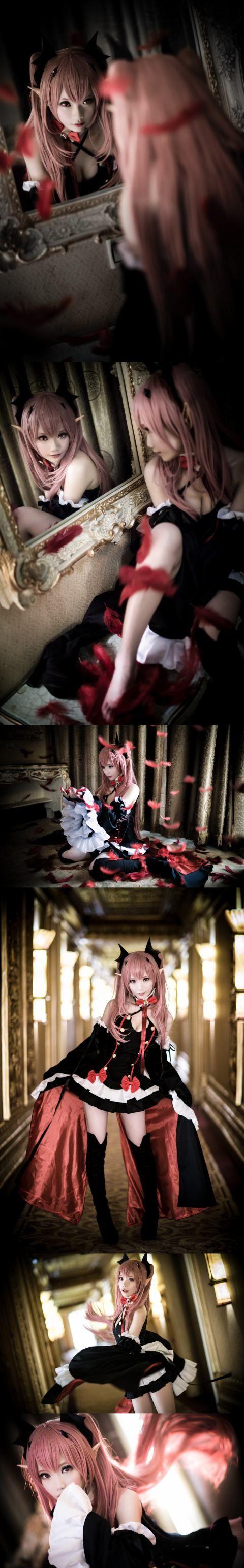 #Cosplay Owari no Seraph Hot #cosplay #sexy cosplay #erotic cosplay seen also at cosplayerotica.3dpornworld.com