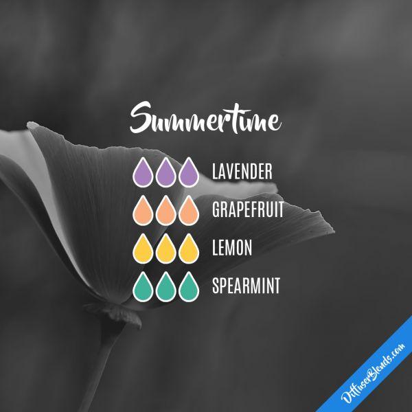 Summertime - Essential Oil Diffuser Blend