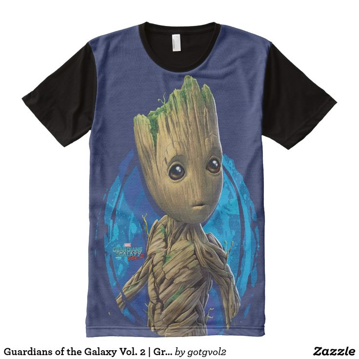 Guardians of the Galaxy Vol. 2 | Groot Turning All-Over-Print T-Shirt