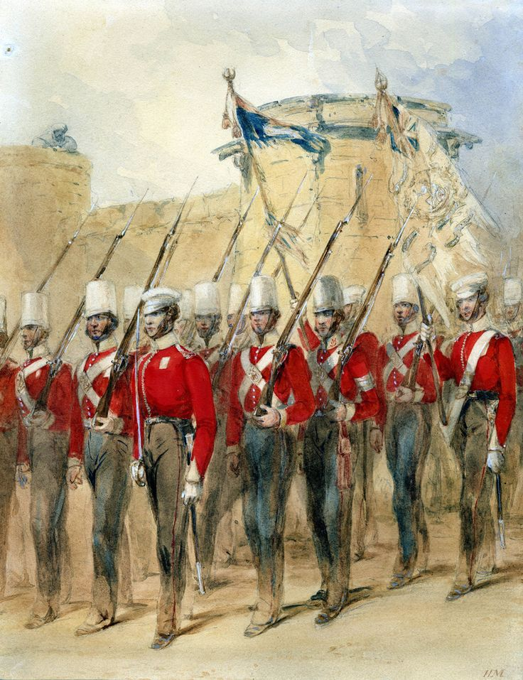 9th Regiment after the Sikh War