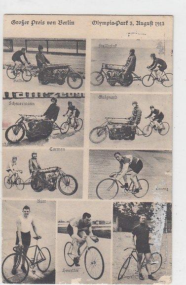 Fahrrad Großer Preis von Berlin Olympia-Park 1913