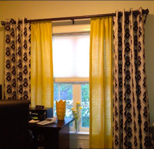 Pin by trish mene on curtain ideas pinterest for Nate berkus window treatments