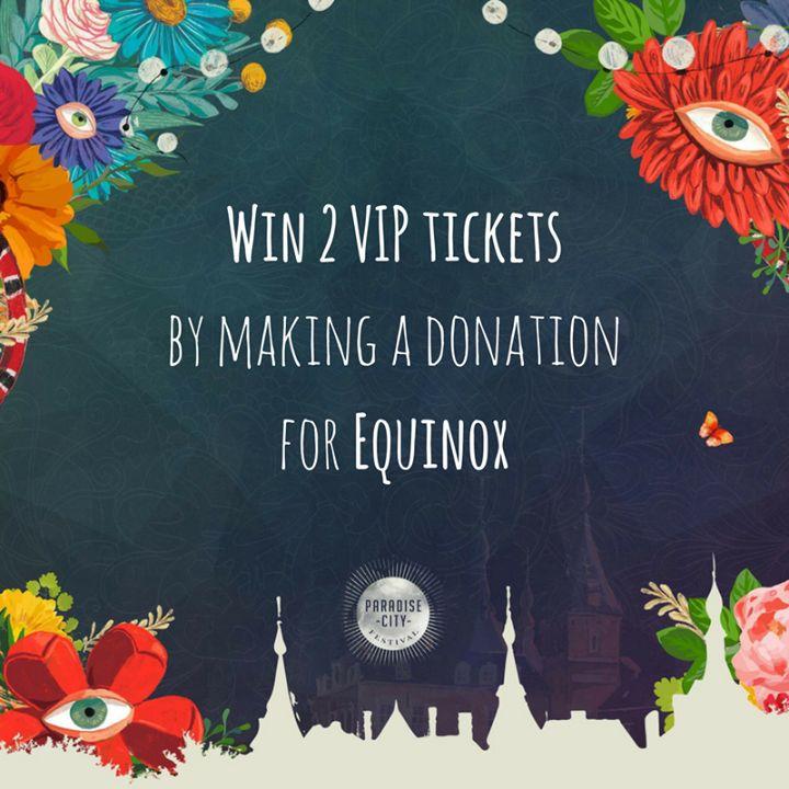 Win 2 VIP tickets voor Paradise City Festival  (waarde: 338)  Hoe? Doneer minimaal 10 aan Chorales Equinox op http://ift.tt/2pdbmSH en deel deze publicatie!   Op 21.05.2017 zal een onschuldige hand de gelukkige winnaar aanduiden   #MakeItHappen // #filantropie #philanthropy #philanthropie #crowdfunding #crowdsourcing #give #betech #startup #powertothecrowd