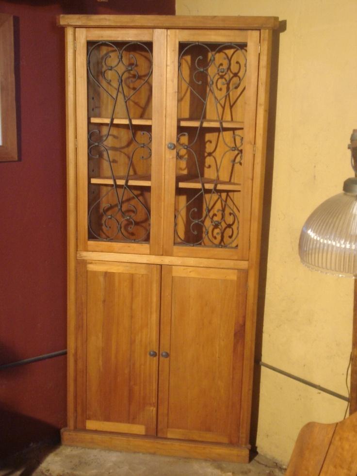 Campo chico esquinero realizado en madera restaurada y - Rejas de madera ...